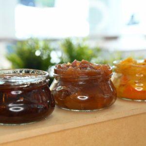 Jam and orange