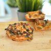Quiche Mushroom Roquefort